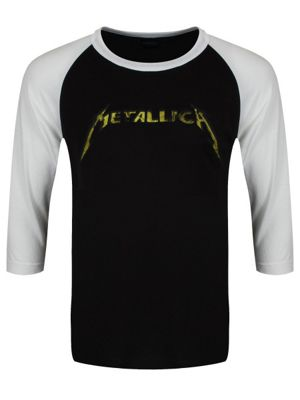 Metallica Justice Long-sleeve Raglan T-Shirt Black