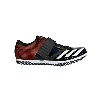 adidas adizero High Jump Track & Field Spike Shoe Black - UK 7.5