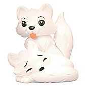 National Geographic Wild Friends Arctic Fox Figure