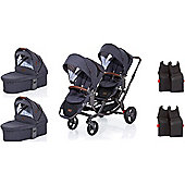 ABC Design Zoom Carrycot Twin Bundle (Street)