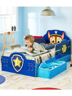 Paw Patrol Chase Toddler Bed with Storage