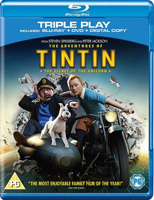 The Adventures Of Tintin - The Secret Of The Unicorn (Blu-Ray)