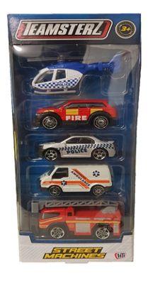 Teamsterz Street Machines Emergency Vehicles 2