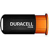 Duracell DRUSB32PR 32GB USB 3.0 (3.1 Gen 1) Type-A Black Orange flash drive