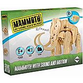 Dinosaur Mammoth Sound and Motion