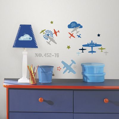 Childrens Wall Stickers - Aviation