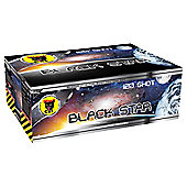 Black Star 120 Shot Firework