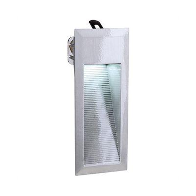 Downunder LED Wall Lamp Aluminium Brushed 0.9W White