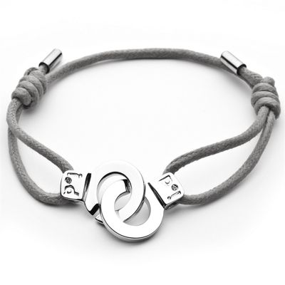 i.d x-change Cuffs of Love Bracelet - Grey Small
