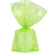 Lime Green Large Cello Party Bags - 29cm