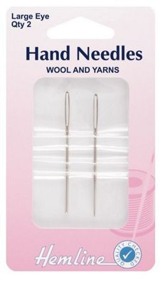 Hemline Metal Yarn Needles