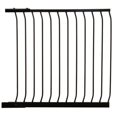 100cm Extension Gate Black - F835B - Dreambaby