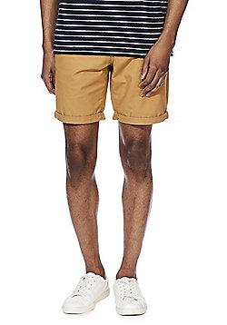 F&F Chino Shorts - Mustard