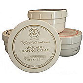 Taylor of Old Bond St Shaving Cream Avacado Tub 150g