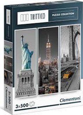 New York - 3 x 500pc Puzzle