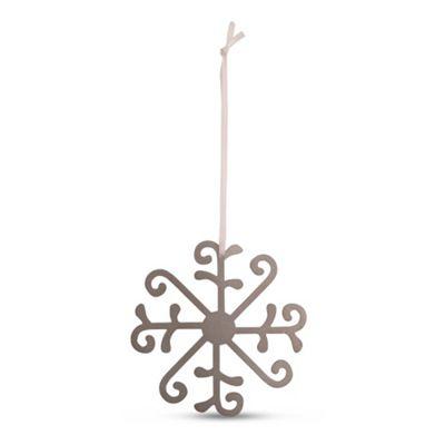 Large Metal Christmas Tree Decoration Snowflake Design B