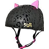 Krash Leopard Kitty Kids Helmet
