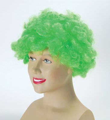 Bristol Novelty - Afro Wig - Green