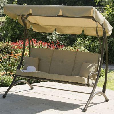 Suntime Ferndown Beige 3 Seater Garden Swing Seat Part 77