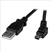 StarTech.com 0.5m Mini USB Cable - A to Up Angle Mini B