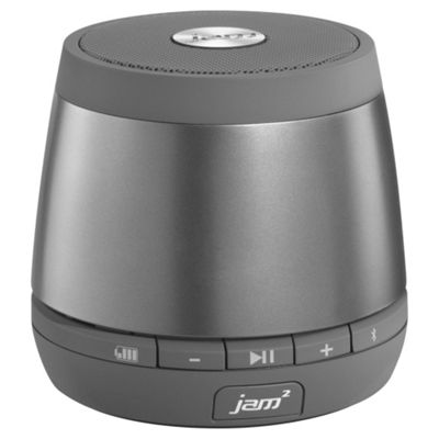 HMDX Jam Plus Wireless Bluetooth Speaker, HX-P240GY, Grey