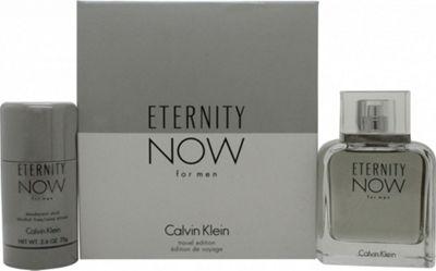 Calvin Klein Eternity Now For Men Gift Set 100ml EDT + 75g Deodorant Stick For Men