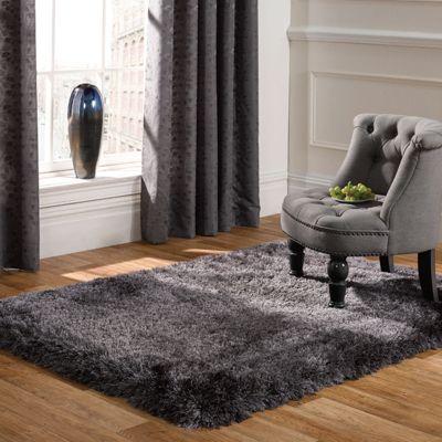 Pearl Rugs in Dark Grey160x230cm