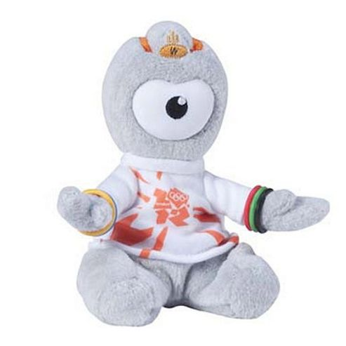 London 2012 Wenlock Cuddly Collectible 16cm Soft Toy