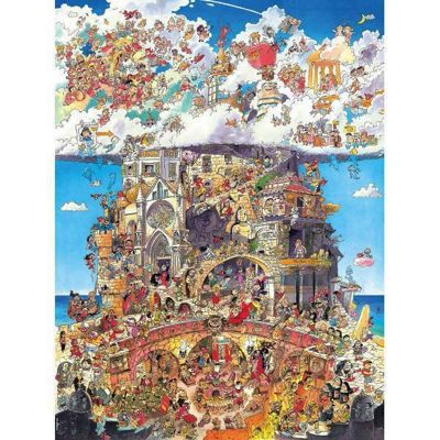Heaven and Hell -1500pc Puzzle