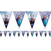 Disney Frozen Ice Skating Flag Bunting