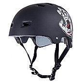 Bullet / Santa Cruz Colab Screaming Hand Graphic Helmet - Black - L / XL (58cm - 62cm)