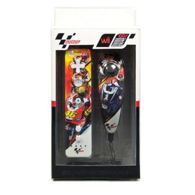 Moto GP Remote and Nunchuk Controller Pack - NintendoWii