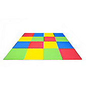 Childrens Soft Interlocking EVA Foam Play Mats (4 pack)