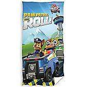 Paw Patrol On A Roll Towel