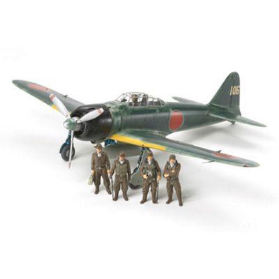 Tamiya 61108 A6M3/3A Zero (Zeke) 1:48 Aircraft Model Kit