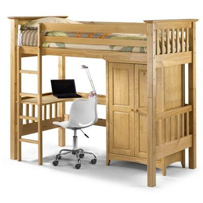 Bedsitter Bunk Style Children's Bed Single - 3ft (90cm)