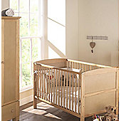East Coast Hudson 2 Piece Nursery Room Set with Sprung Mattress (Antique)
