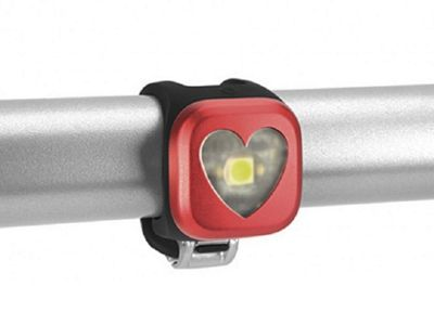 Knog Blinder 1 Front LED Cycle Light USB Rechargeable Red Heart