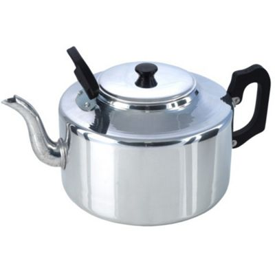 Pendeford Traditional Aluminium 8 Pint Tea Pot With Lid, 4.5 Litres