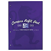 Oxford Campus 140pg Refill Purple 5 pack