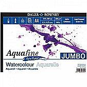 Daler Rowney AquaFine Jumbo Texture Watercolour Paper A4