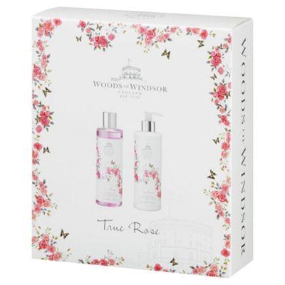 Woods Of Windsor True Rose  Gift Set