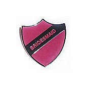 Pink Bridesmaid Wedding Hen Night Badge