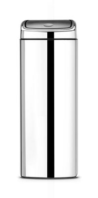 Brabantia Brilliant Steel 25L Touch Bin