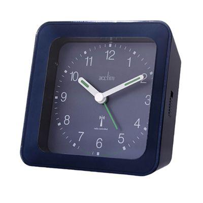 Acctim 71469 Avia Radio Controlled Sensor Alarm Clock - Blue