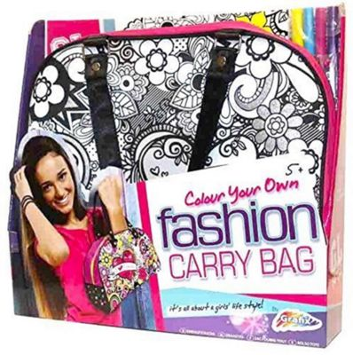 GL Style Girls Colour Your Own Fashion Carry Hand Bag