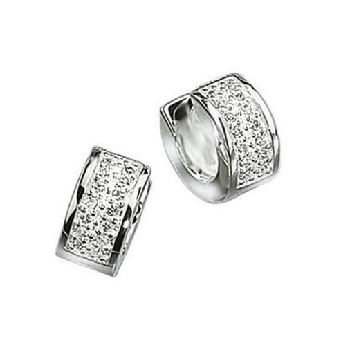 where to buy mens earrings buy mens cz silver huggie earrings from our all jewellery 3406