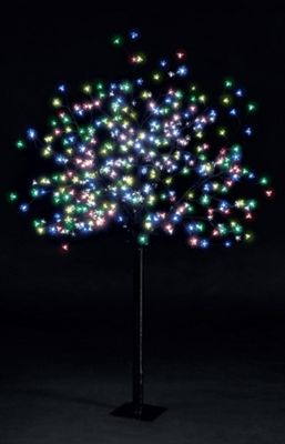 6ft/180cm Cherry Blossom Tree with 350 Multi-Colour LEDs