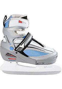 Lake Placid Mach 5 Girls Adjustable Ice Skates - Blue