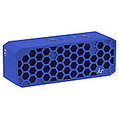 Kitsound Hive 2 Blue Bluetooth Wireless Portable Stereo Speaker